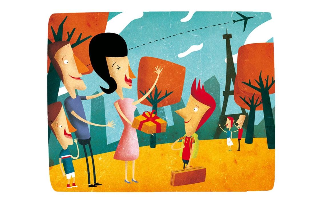 Ilustraciones de Interfamille