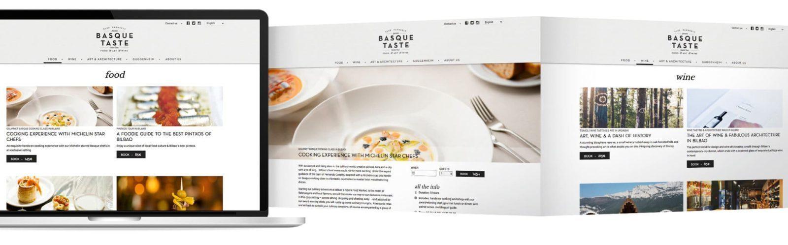 Desarrollo web Basque Taste
