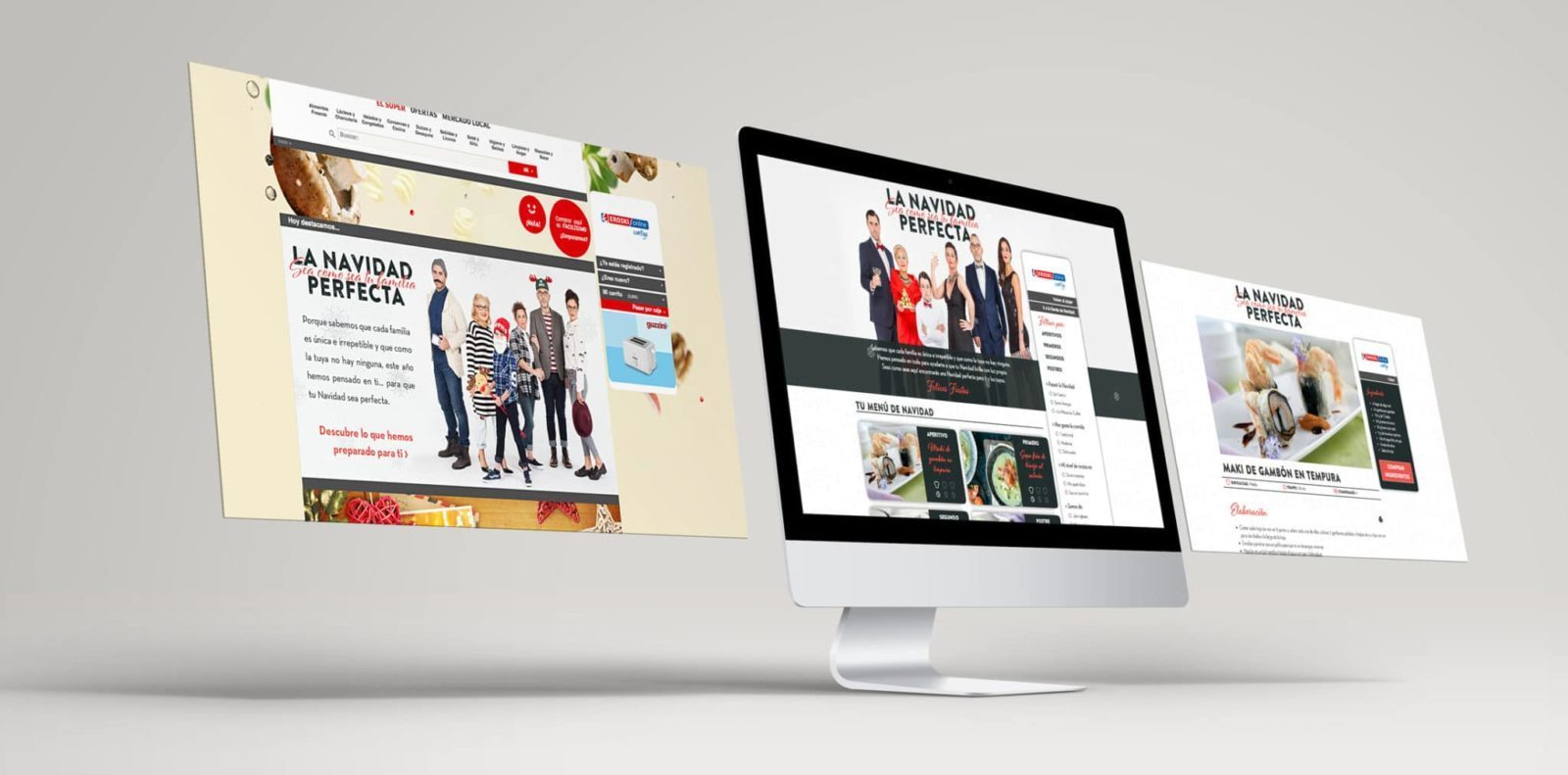 Desarrollo web de Eroski Online