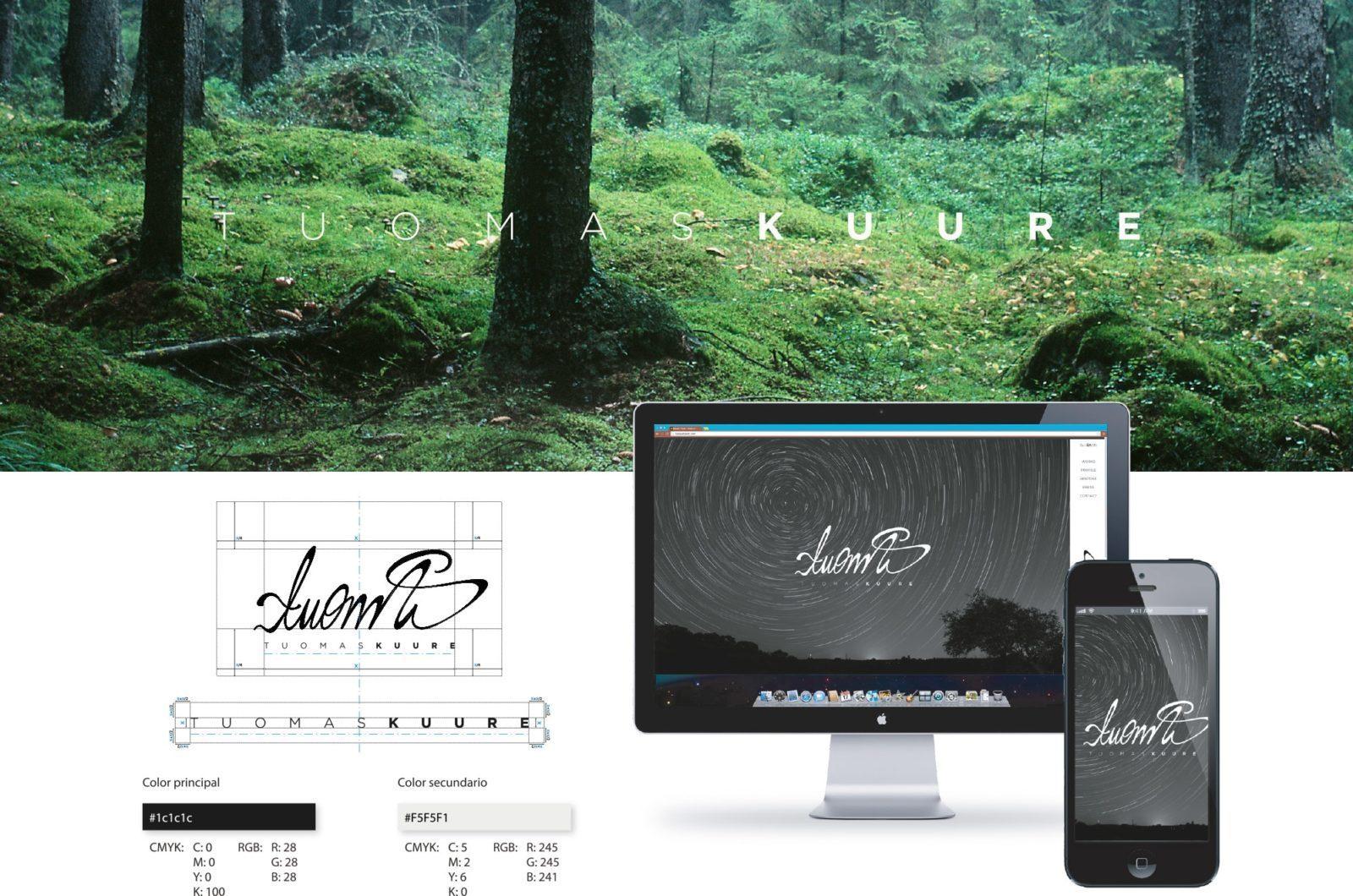 Desarrollo web de Tuomas Kuure