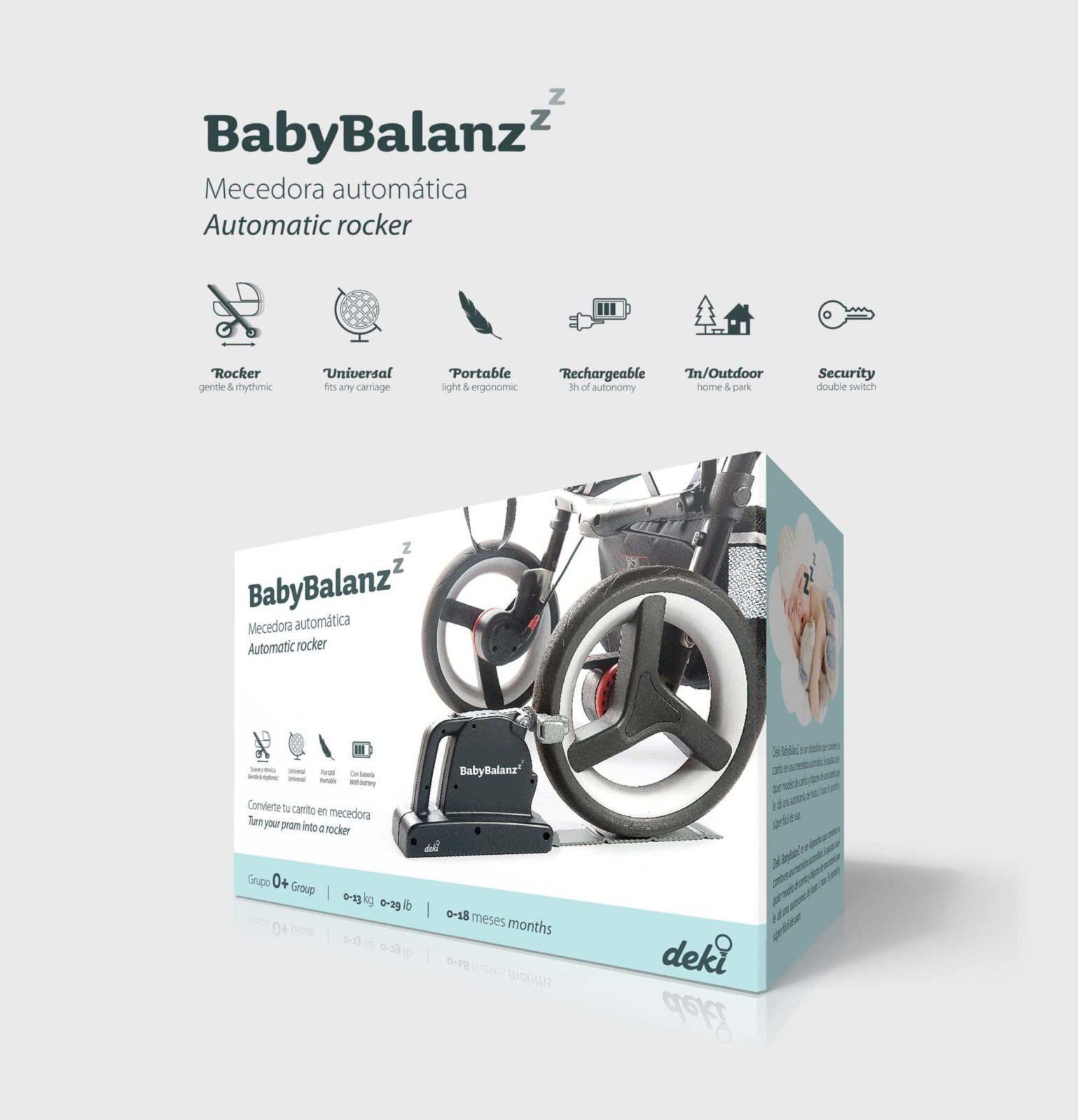 Diseño de packaging BabyBalanz