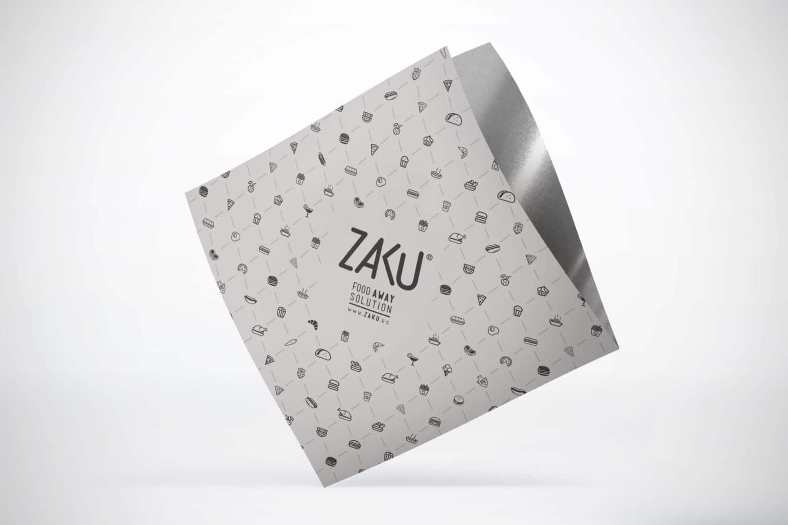 Diseño logotipo de Zaku