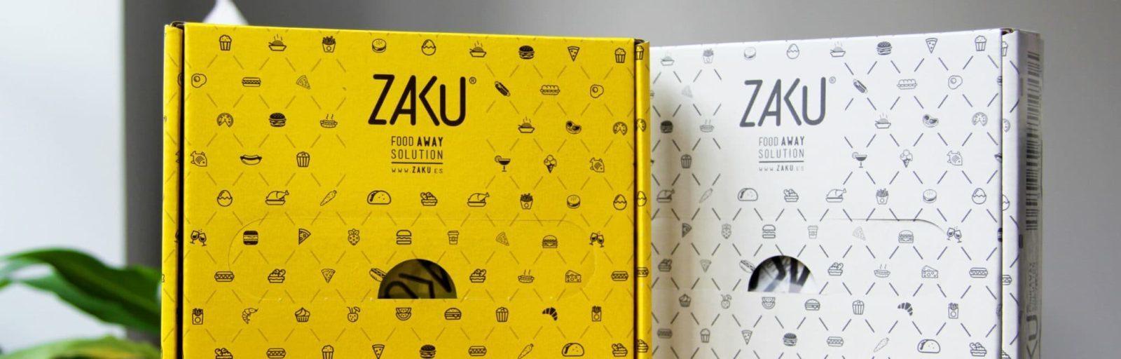 Diseño de caja Zaku