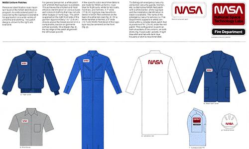 Manual de marca de la NASA