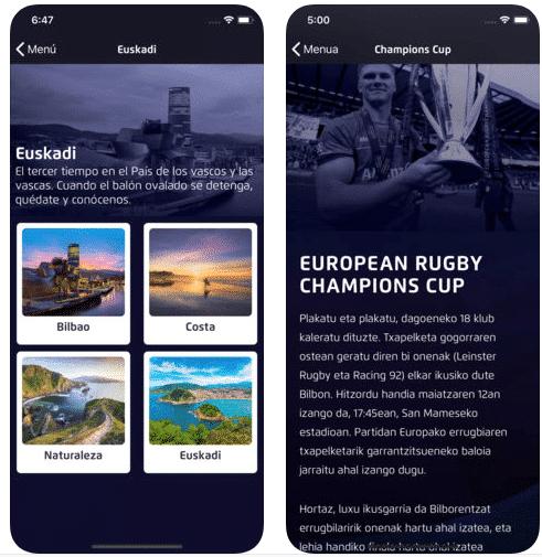 Desarrollo de app en Euskadi