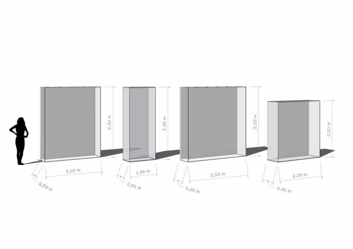 diseño framewalls eventos bilbao