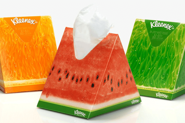 Sirope Packaging verano kleenex