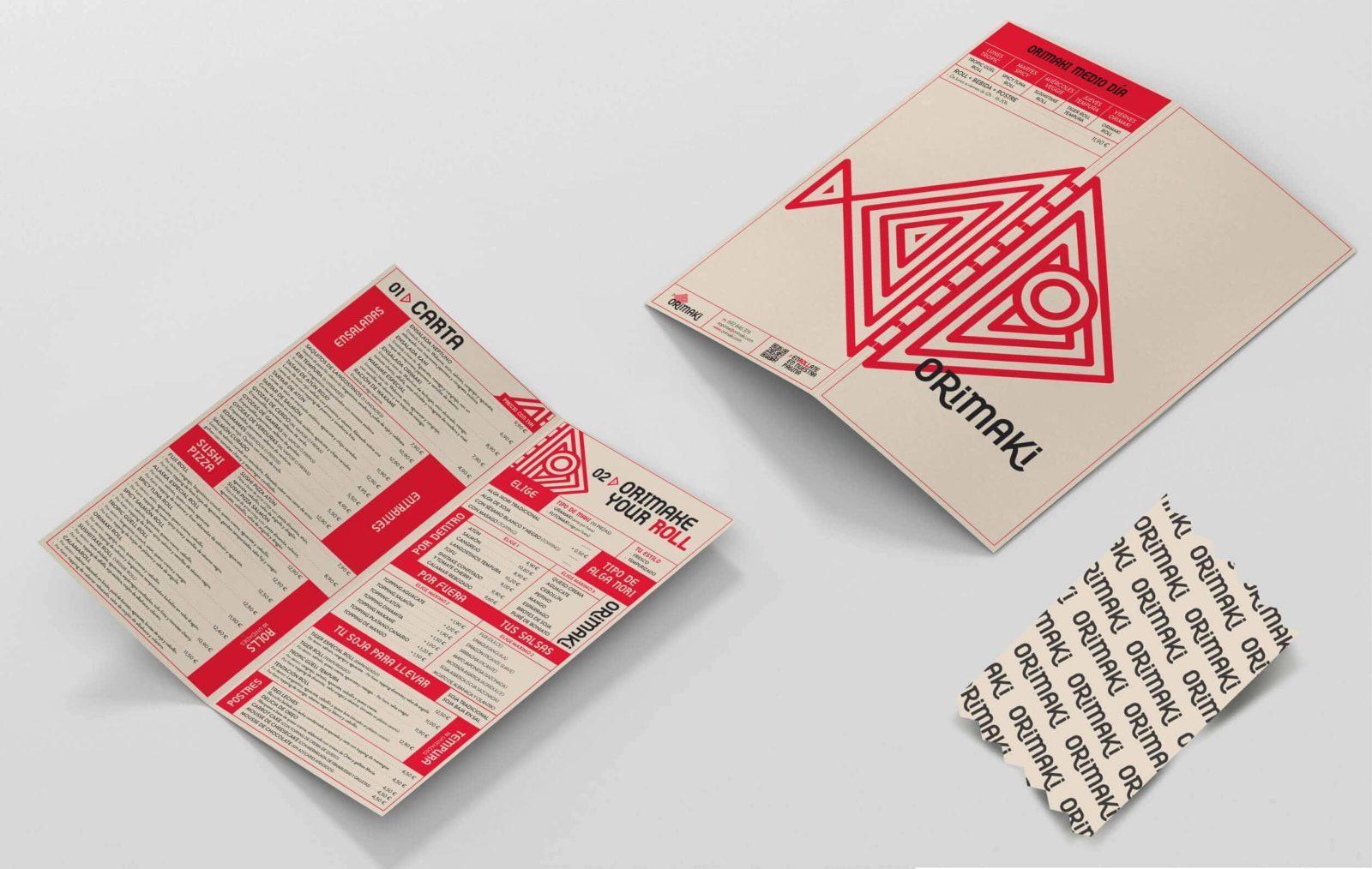 diseño de carta carteleria papeleria para empresas