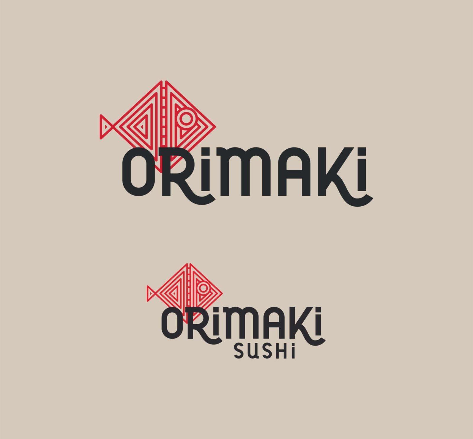 diseño de marca logotipo imagen restaurante sushi