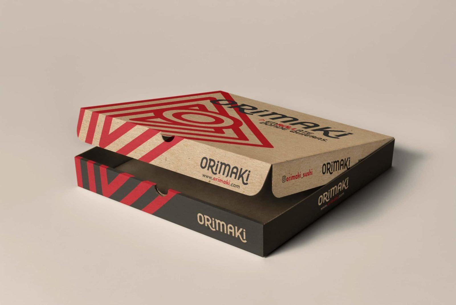 diseño de caja y envases para de alimentos