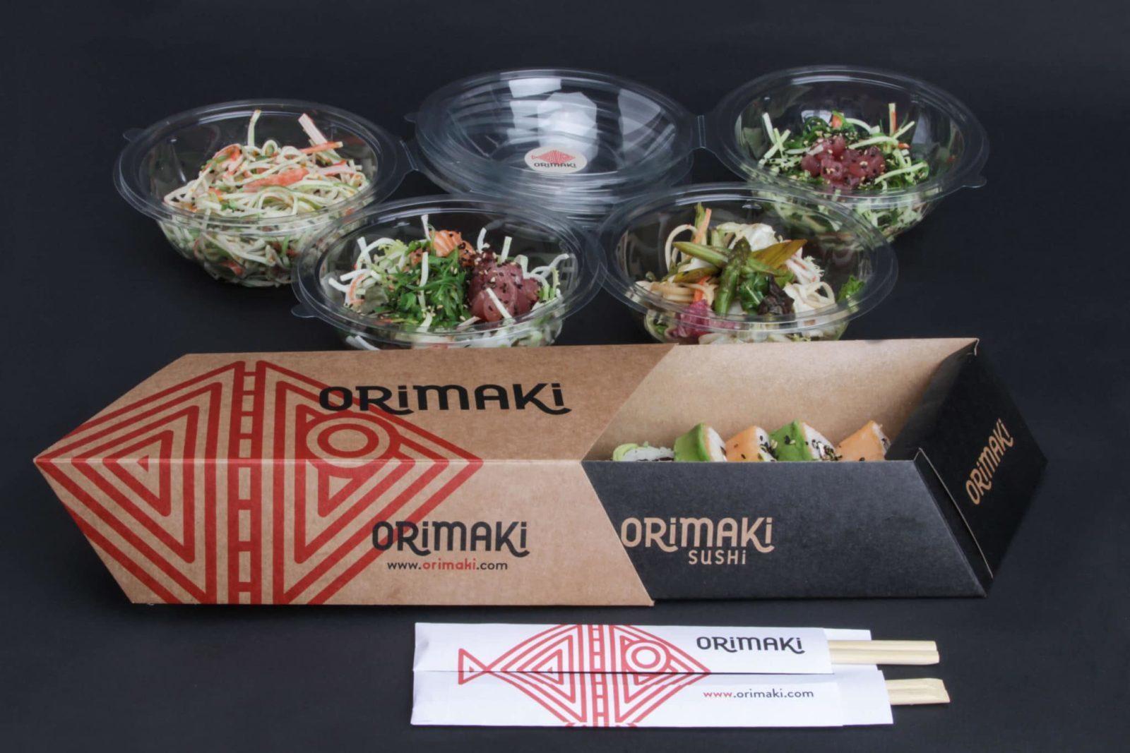 diseño de packaging par restaurantes y otras empresas alimenticias