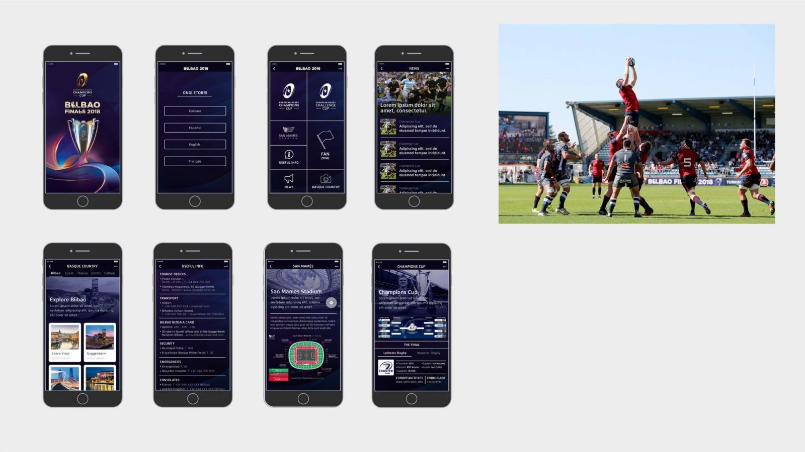 Rugby Bilbao app