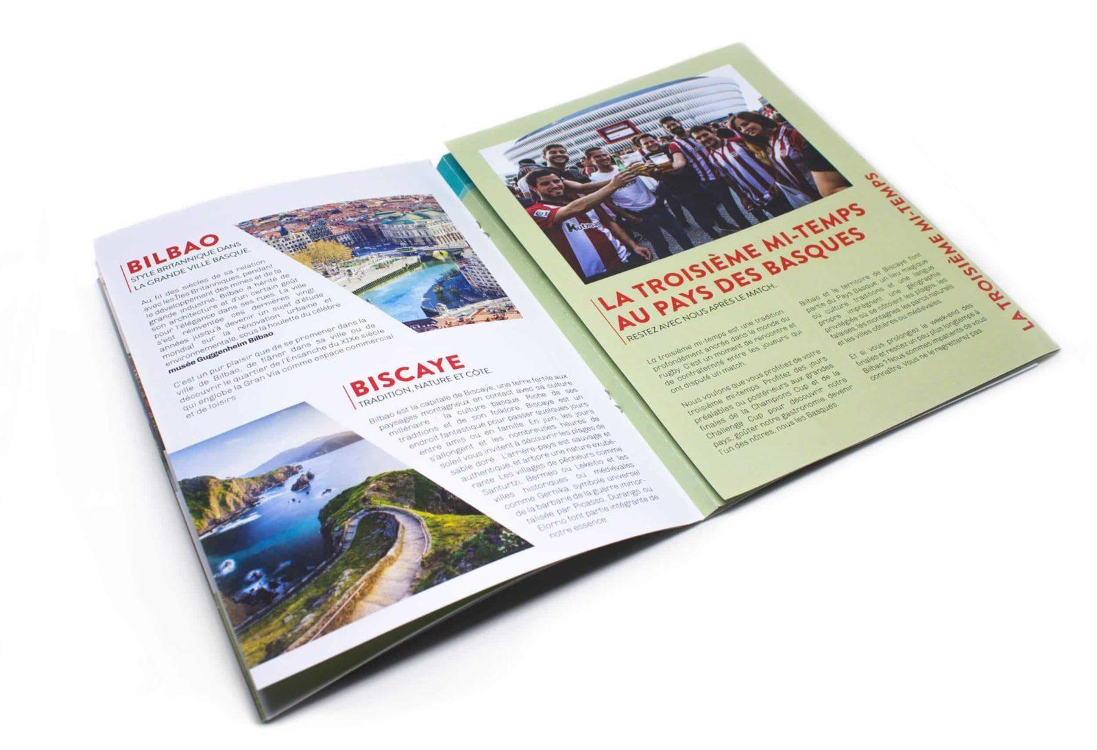 Diseño editorial rugby bilbao