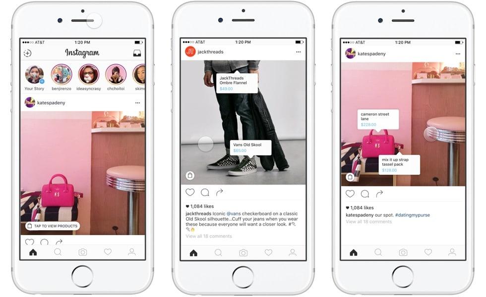 compra instagram retail branding