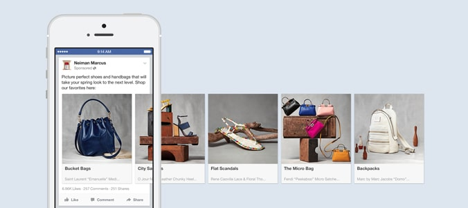 anuncios y campañas en redes sociales facebook instagram carrusel sirope