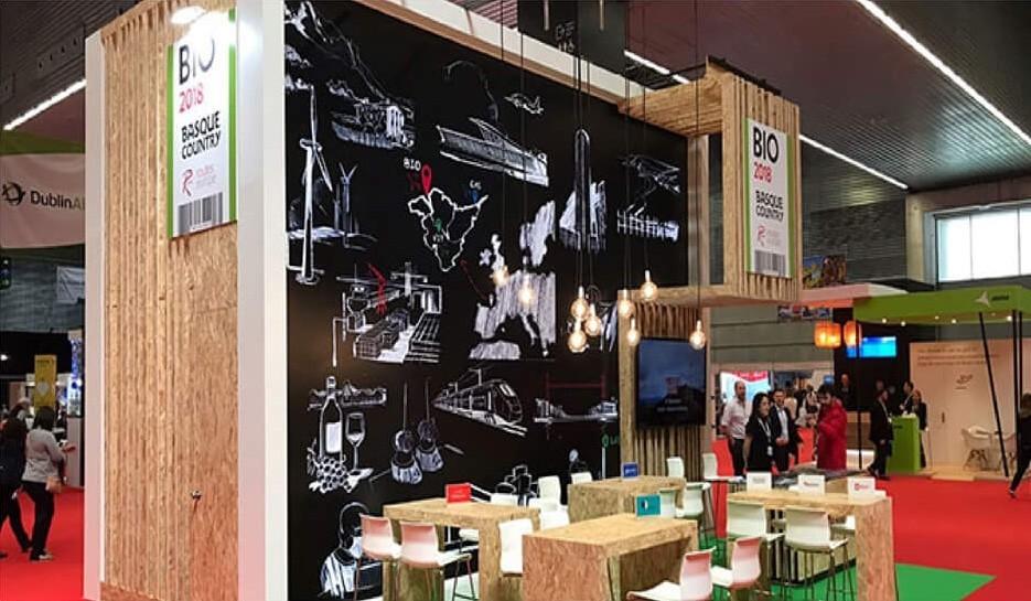 diseño del evento routes 2018 en bilbao