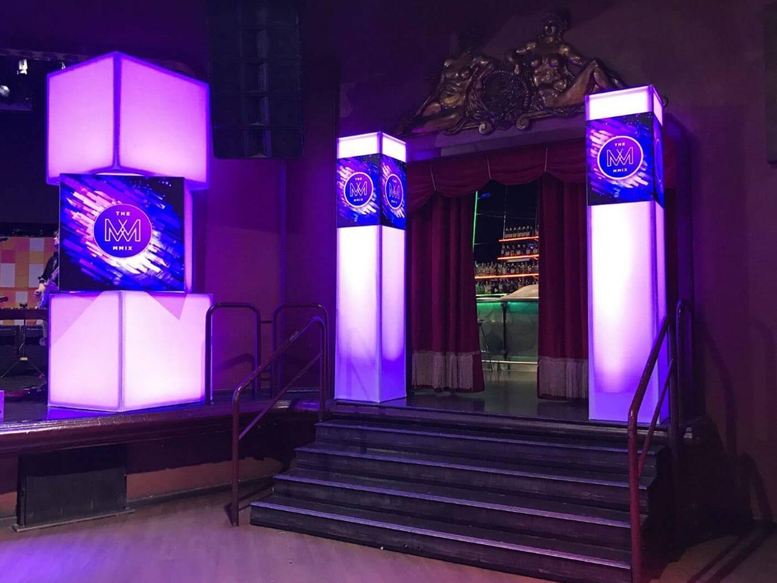 cajas de luz para eventos