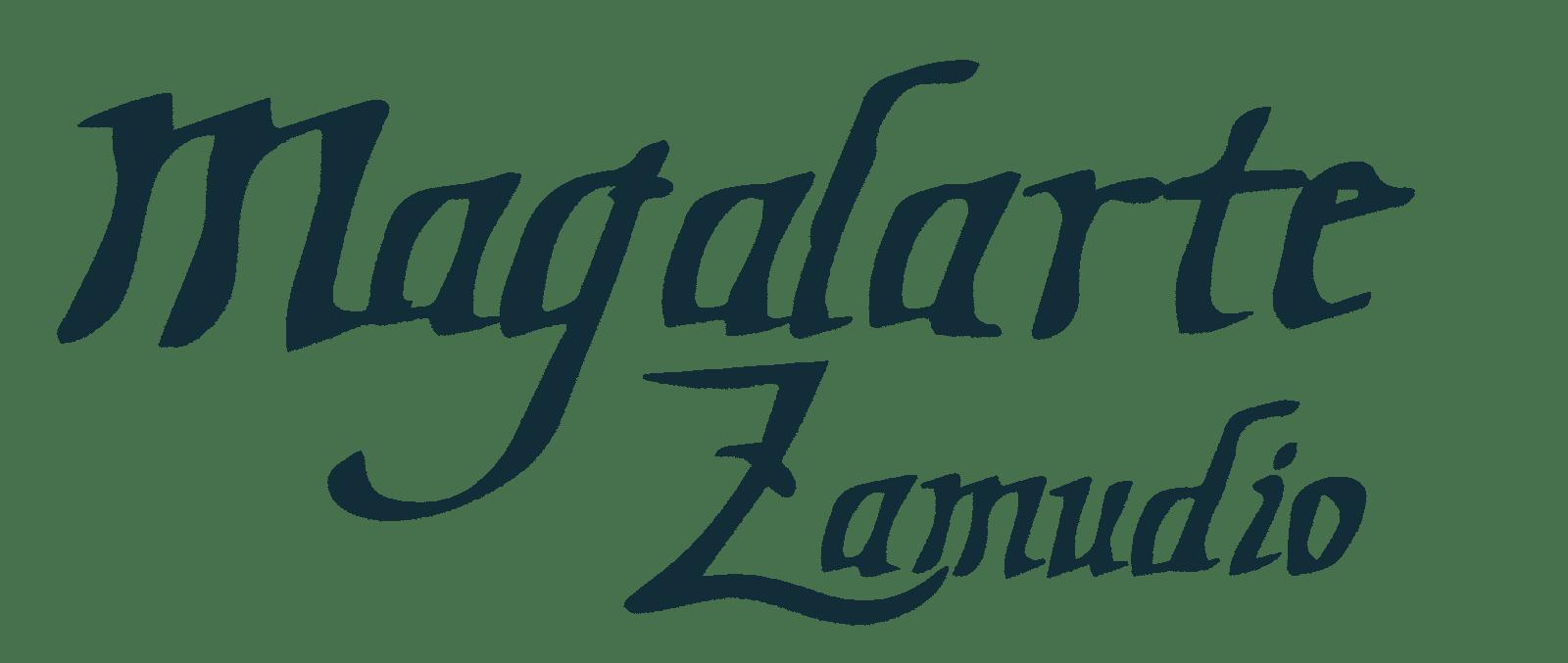 Logo viejo Magalarte Zamudio