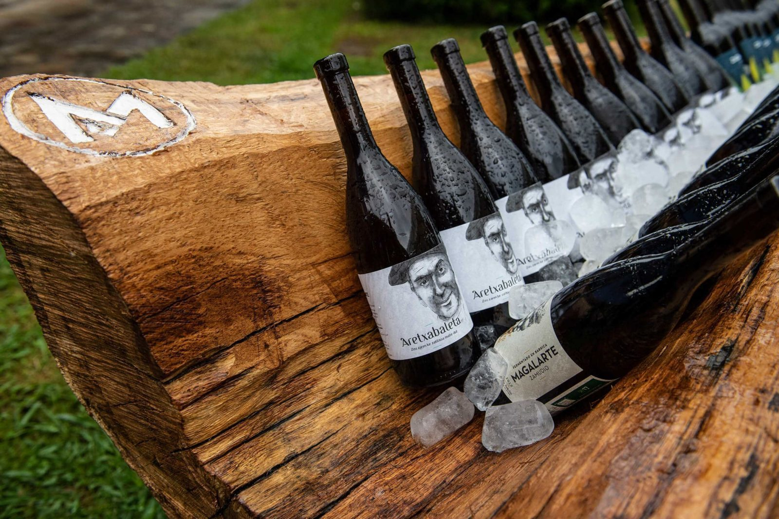 Diseño botellas de vino Magalarte Zamudio