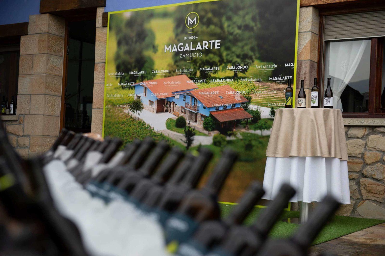 Organización de evento Bodega Magalarte Zamudio