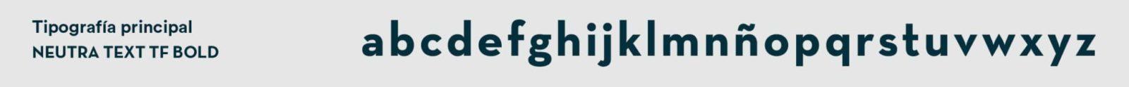 Tipografía principal de Magalarte Zamudio