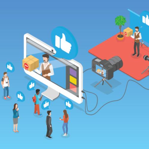 ilustración sobre el influencer marketing