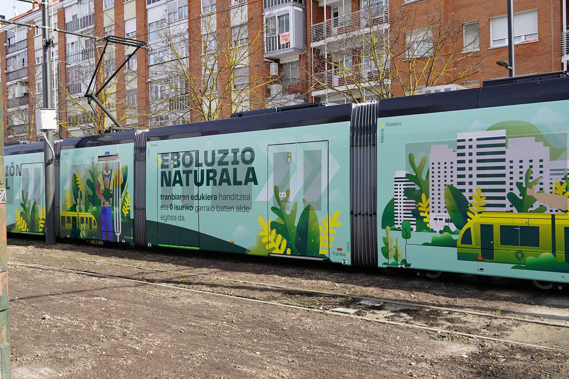 Inauguración Euskotren Tranvía Vitoria-Gasteiz