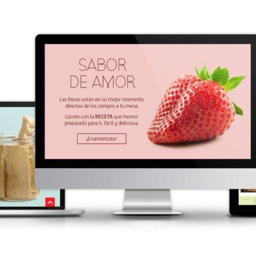 Diseño web de Eroski Online