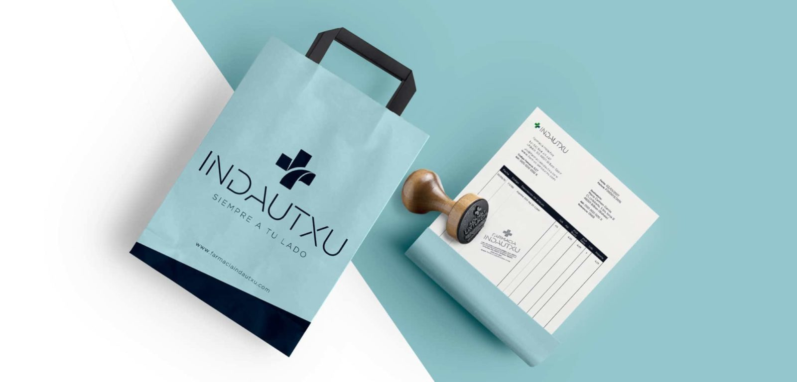 Branding de Farmacia Indautxu