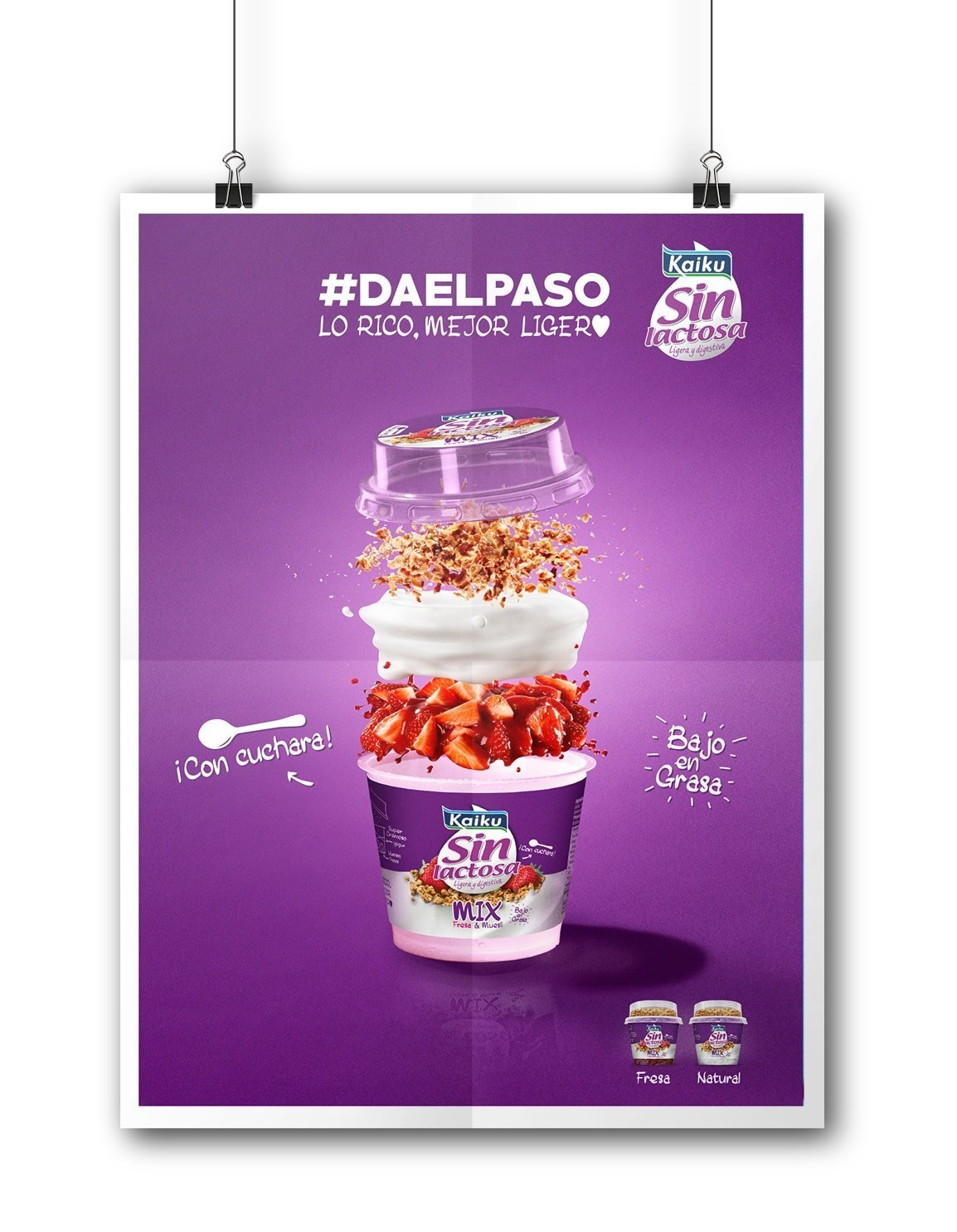 Packaging de Kaiku sin lactosa Mix