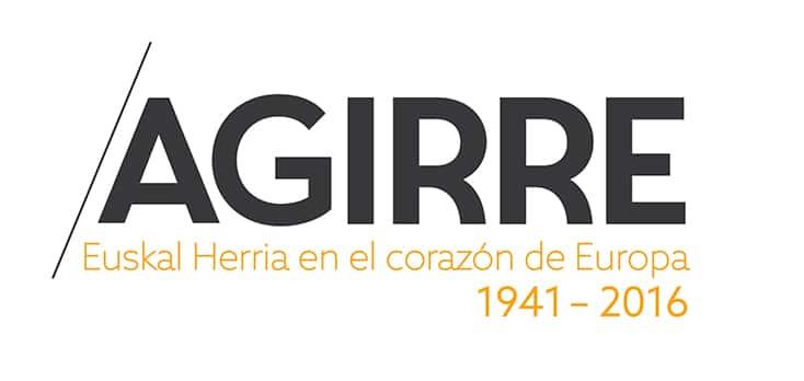 Logo Agirre Euskal Herria en el corazón de Europa